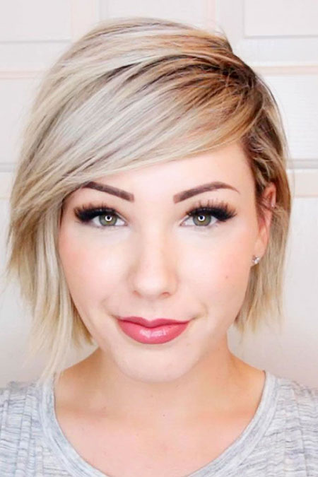 35+ Short Blonde Hairstyles for Round Faces – Blonde Hairstyles 2017