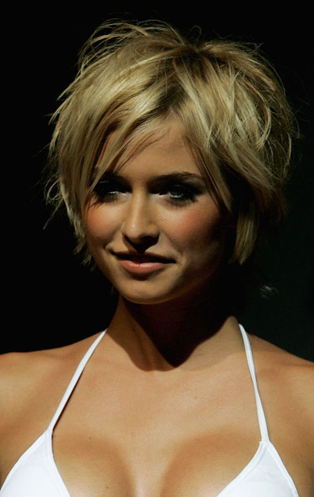 Short Hairstyles, Women, Thick, Pixie Cut, Office