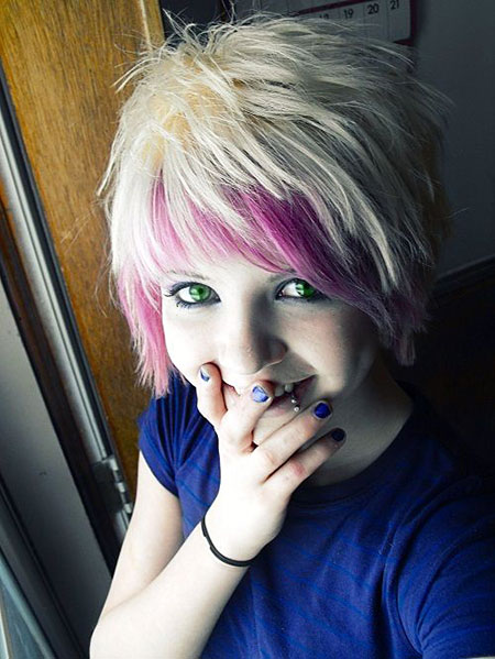 Short Hairstyles, Scene, Emo, Cosplay