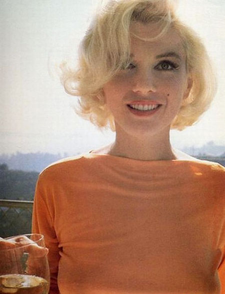 Monroe, Marilyn, Lowlights, Blonde Hairstyles, Beach, Baby
