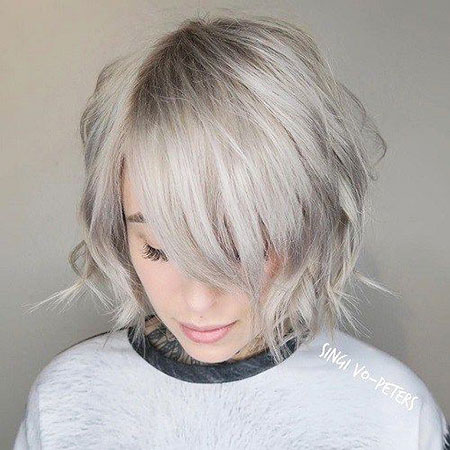 Blonde Hairstyles, Short Hairstyles, Blonde Bob Hairstyles, Shaggy