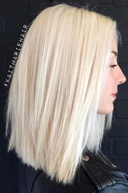 Blonde, Platinum, White, Volume, Thicker, Texture, Light, Bobs