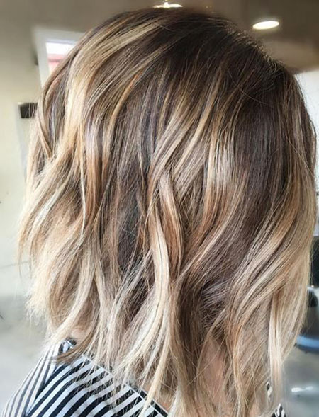 Blonde, Balayage, Short, Highlights, Bob, Tips, Ombre, Bronde