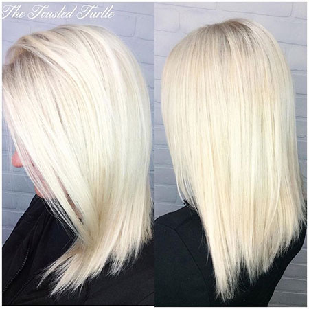 Blonde, Platinum, Blondes, White, Highlights, Blond, Balayage