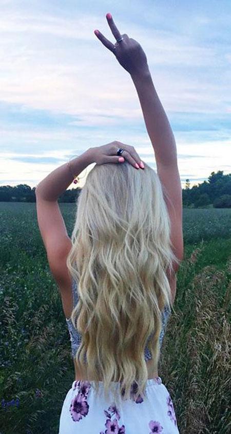 Blonde, Waves, Shades, Ombre, Bleach, Beach