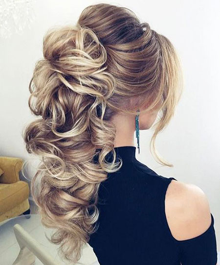 Long Blonde Curly Prom Hair Blonde Hairstyles 2017
