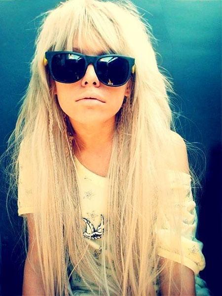 Blonde Sunnies Shades Ray Pretty Cute Ban
