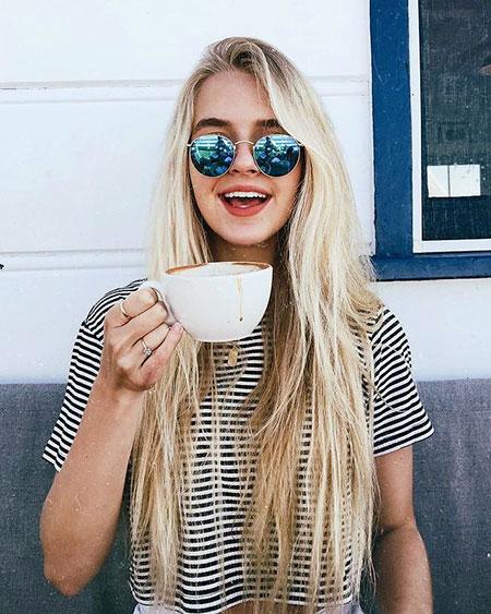 Blonde Long Girl