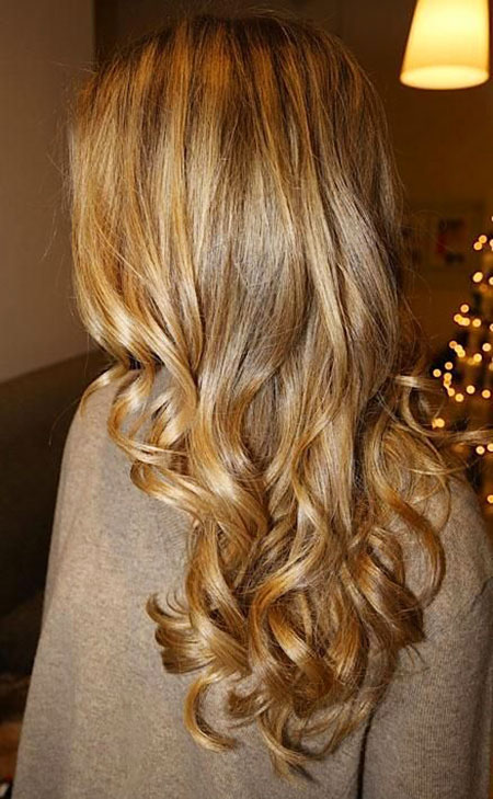 Blonde Highlights Pretty Ombre Honey Dye