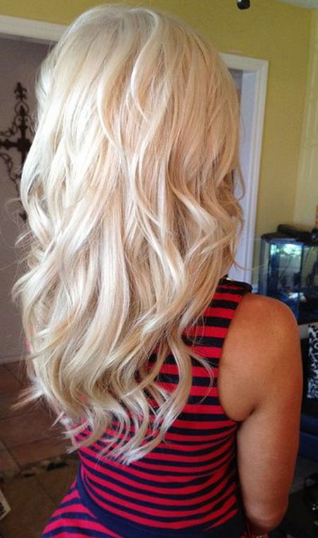 Blonde Highlights Balayage Platinum Long Light Curly