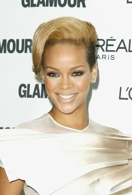 Short Hairstyles, Blonde Hairstyles, Rihanna, Pixie Cut, Undercut