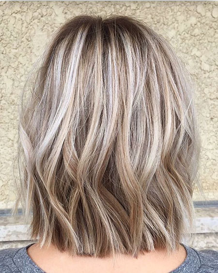 Blonde Hairstyles, Highlights, Balayage, Ash, Wavy, Waves