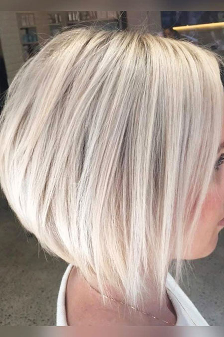 Blonde Bob Hairstyles, Blonde Hairstyles, Short Hairstyles, 2017, Type, Thin