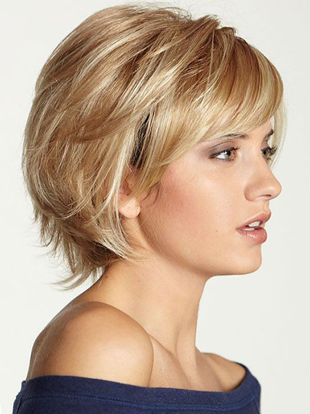 Short Hairstyles, Wigs, Wig, Wavy, Wave, Synthetic, Medium, Long