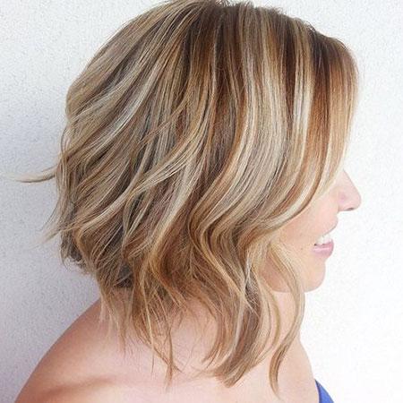 Highlights, Balayage, Brown, Blonde Hairstyles