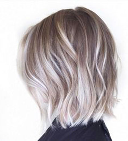 Blonde Bob Hairstyles, Balayage, Ash, Salon, Pixie Cut, Habit, Frisyrer