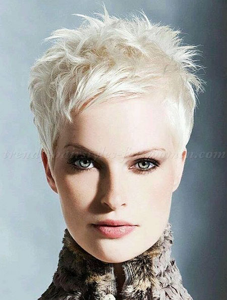 Short Hairstyles, Pixie Cut, Women, Very, Trendy, One, Messy