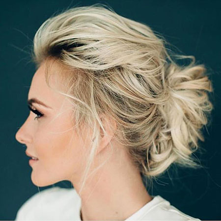 Updo Hairstyles For Short Hair Archives Blonde Hairstyles 2020