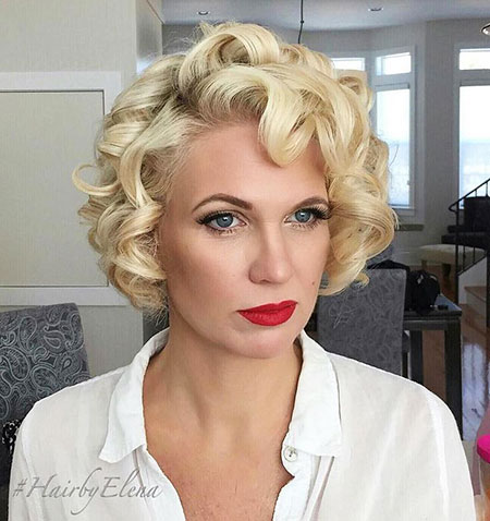 Short Hairstyles, Curly, Gwen, Blonde Hairstyles, Wig