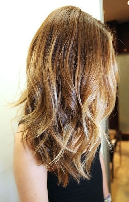 Long, Layered, Women, Short Hairstyles, Older, Medium