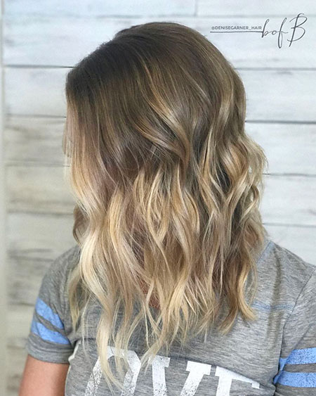 Balayage, Ombre, Blonde, Tan, Skin, Should, Pretty, Medium, Long, Length, Dark