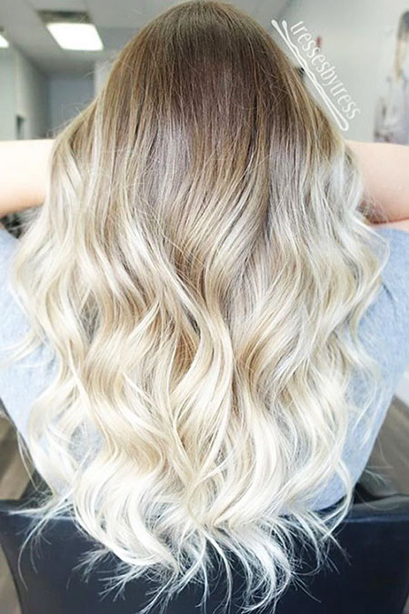 Blonde, Ombre, Balayage, without, Platinum, Fun, Ash