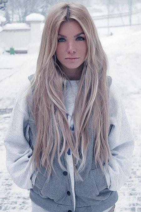 Blonde Long Length Back Ash