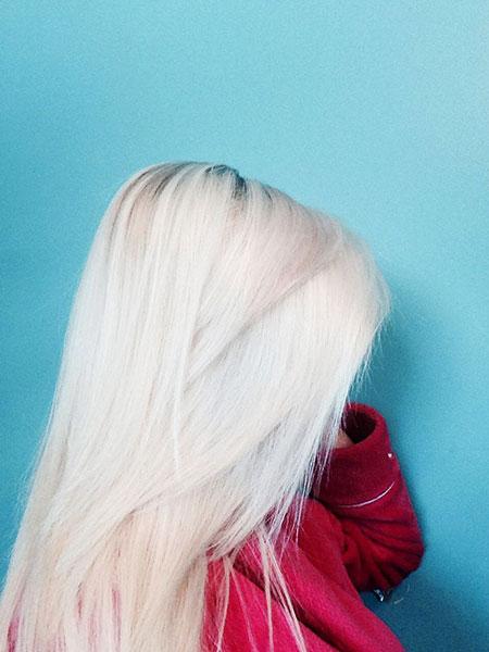 Blonde, White, Soft, Pretty, Platinum, Light, Bleach, Ash