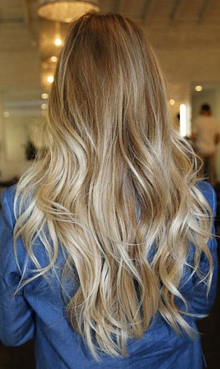 Blonde Natural Highlights Balayage