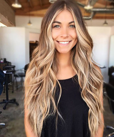 Ombre Balayage Trend Summer Long Dirty Colors Blondes