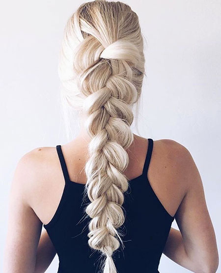 Braid Messy Braids Trenza French Dutch Blonde