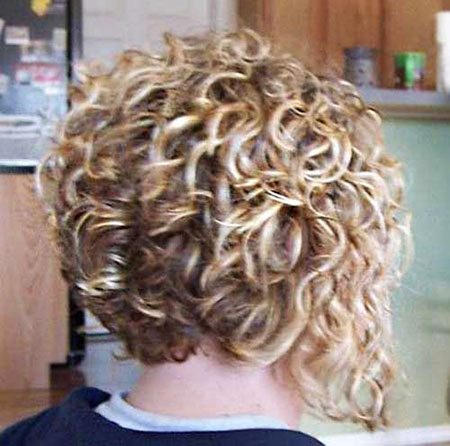 Curly, Short Hairstyles, Layered, Women, Shoulder, Longer