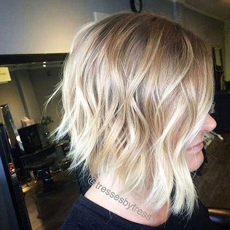 Blonde Hairstyles, Balayage, Wavy, Short Hairstyles, Ombre, Locks