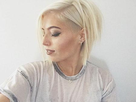 Short Hairstyles, Blonde Hairstyles, Undercut
