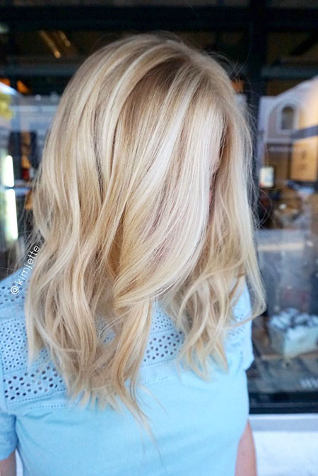 Blonde Hairstyles, Highlights, Balayage, Woman, Ombre