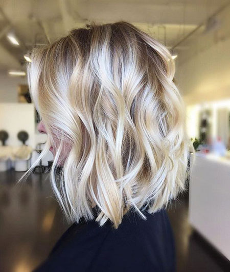 Blonde Hairstyles, Balayage, Spring, Soft, Short Hairstyles, Mid