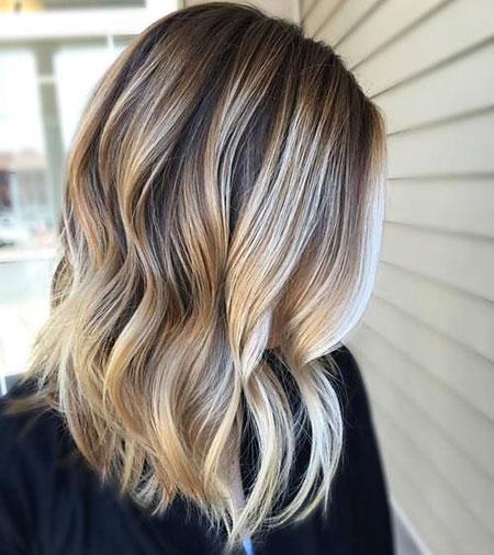 Blonde, Short, Medium, Colours