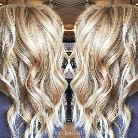 Blonde Balayage Summer Short Highlights Colors Caramel