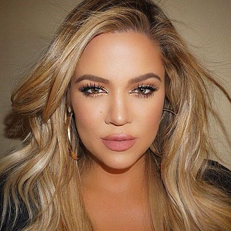 Khloe, Kardashian, Skin, Maquillaje, Lashes, Jenner