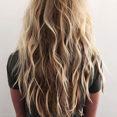 Blonde, Waves, Highlights, Beachy, Beach, Tran