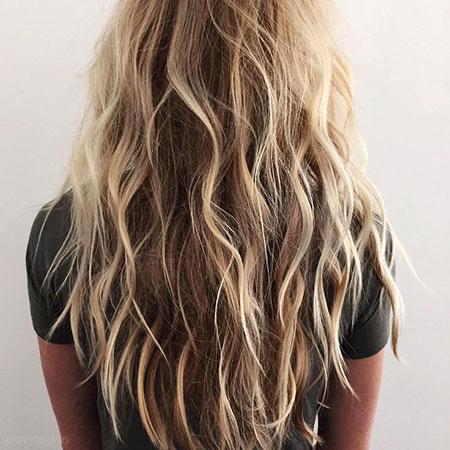 Blonde, Waves, Highlights, Beachy, Beach, Tran