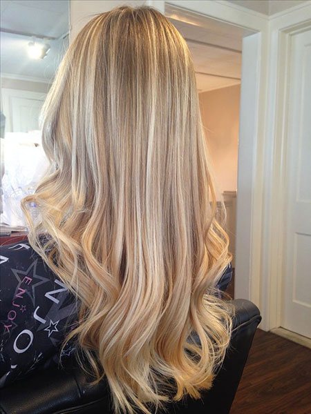 Blonde, Highlights, Balayage, Ombre, Lowlights