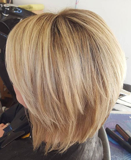 Blonde Bob Hairstyles, Blonde Hairstyles, Shaggy, Layered