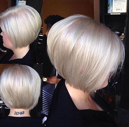 Blonde Bob Hairstyles, Blonde Hairstyles, Haare, Graue