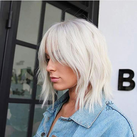 Medium Icy Blonde Hair Color Blonde Hairstyles 2017