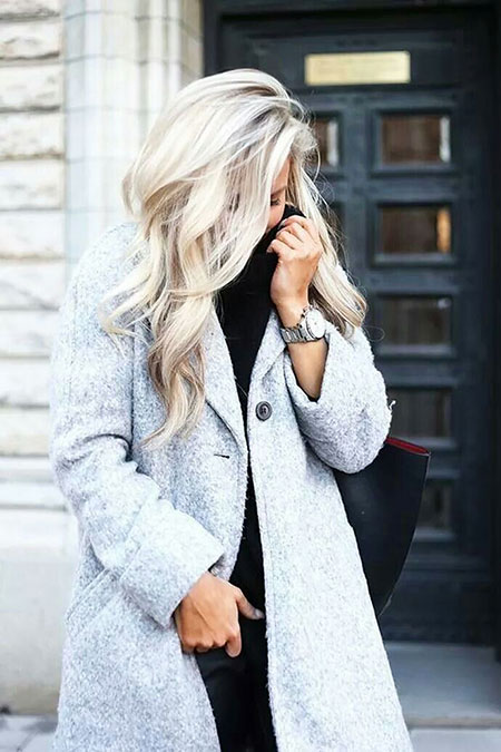 Blonde Summer Winter Fashion Colors 2017