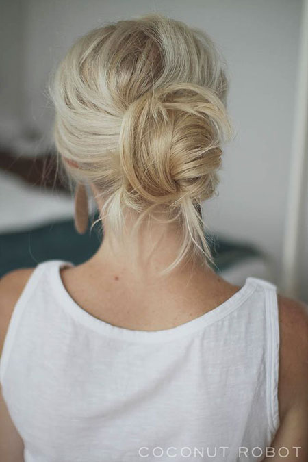 Messy, Wedding, Updos, Long, Bun, Trending, Trend, Pretty, Medium