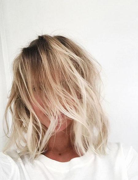 Blonde Bob Hairstyles, Balayage, Blonde Hairstyles, Thin, Skin