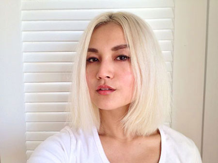 Blonde Hairstyles, Asian, Woman, without, Summer, Really