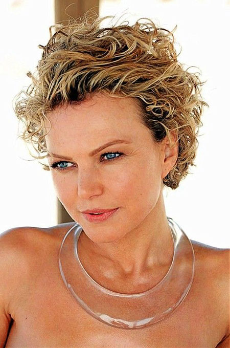 Short Hairstyles, Curly, 2017, Women, Wig, Should, Pretty, Over